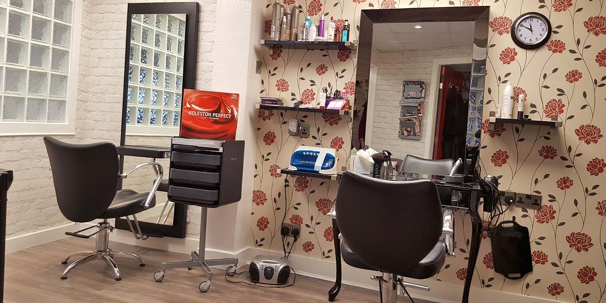 Hair Stations at Helen Raeburn Hairdressing, Hoylake